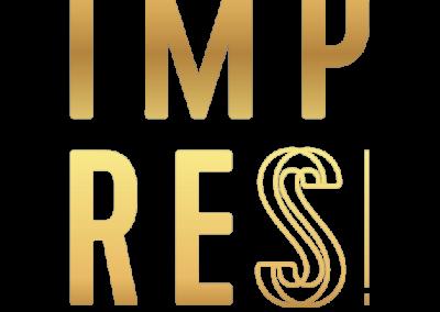 571x571 Logo Impress Mit Claim Gold Freigestellt Quadratisch