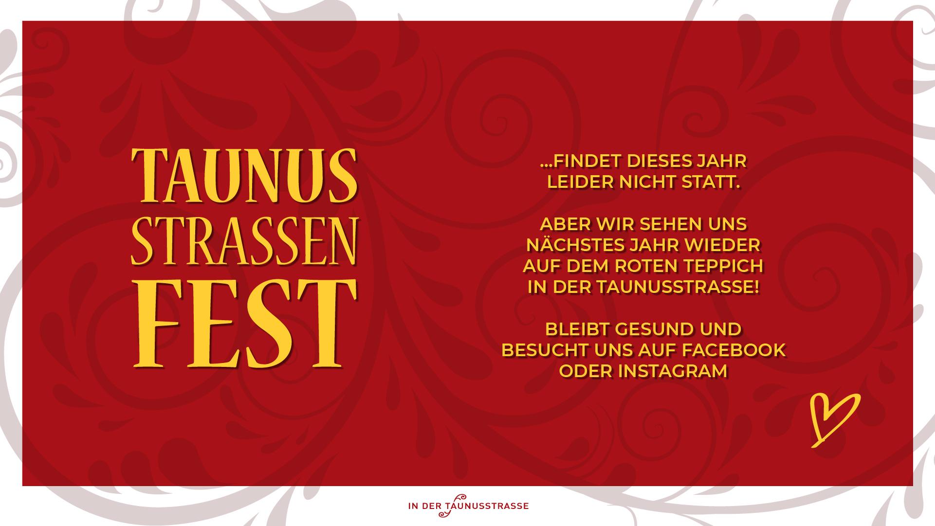 Taunusstraßenfest 2020